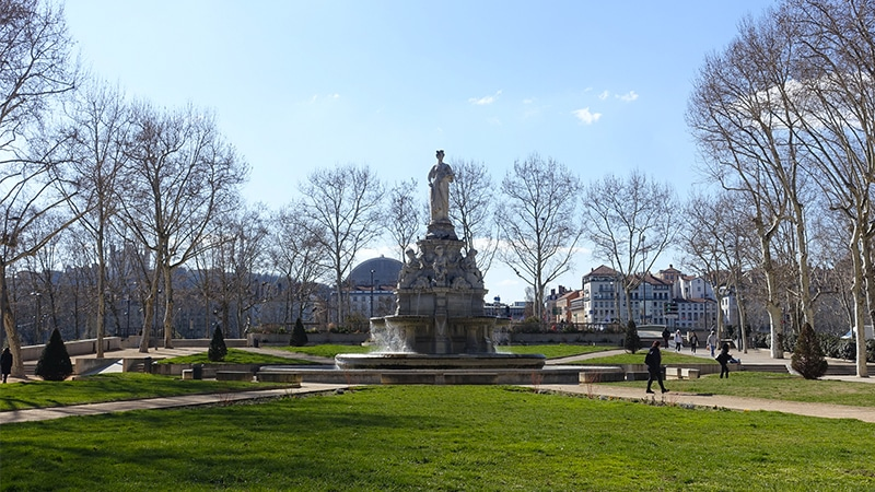 place maréchal Lyautey in lyon 6th district