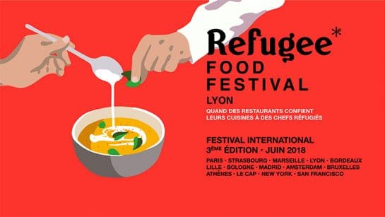 the refugee food festival in lyon in 2018
