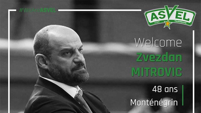 Zvezdan Mitrovic ASVEL Basketball head coach