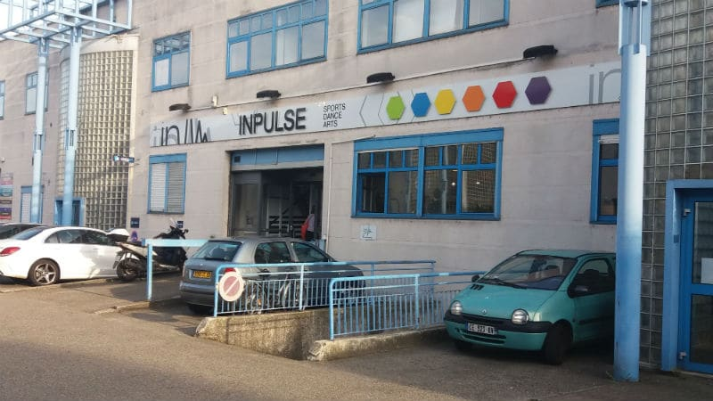 Entrance to the Inpulse center