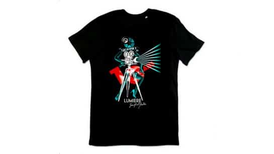 2018 festival lumiere t shirt from jean paul gaulthier