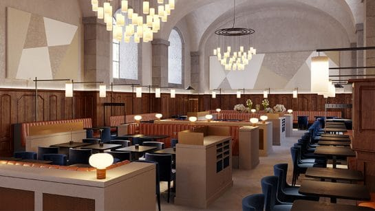 the grand refectoire restaurant in lyon hotel dieu