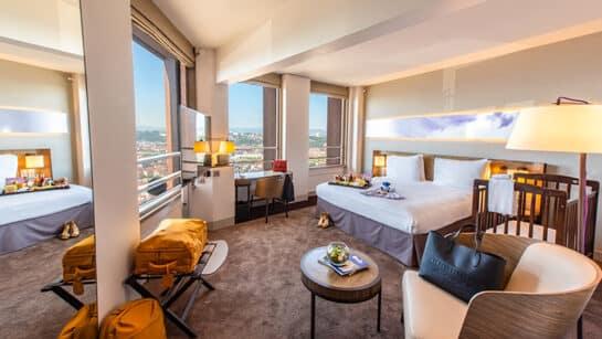 luxury room in Lyon hotels