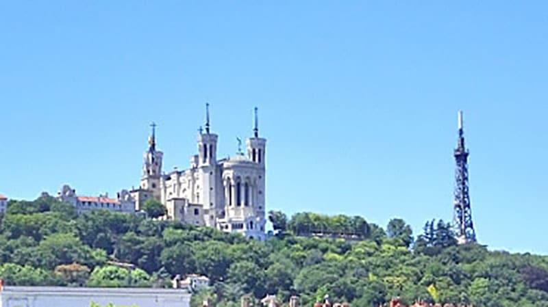 Notre Dame de Fourrière in Lyon
