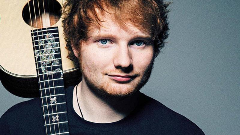 Ed Sheeran in Lyon