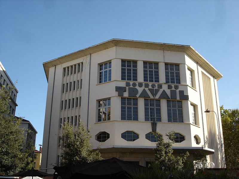 Lyon's Bourse du Travail