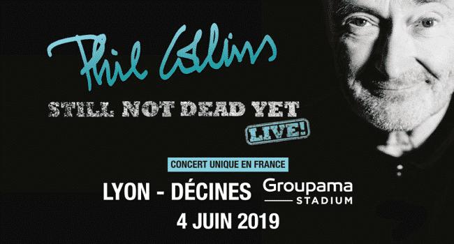 Phil collins tour poster 2019