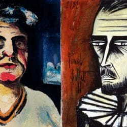Bernard Buffet exhibition at Lyon's Jean Couty Museum