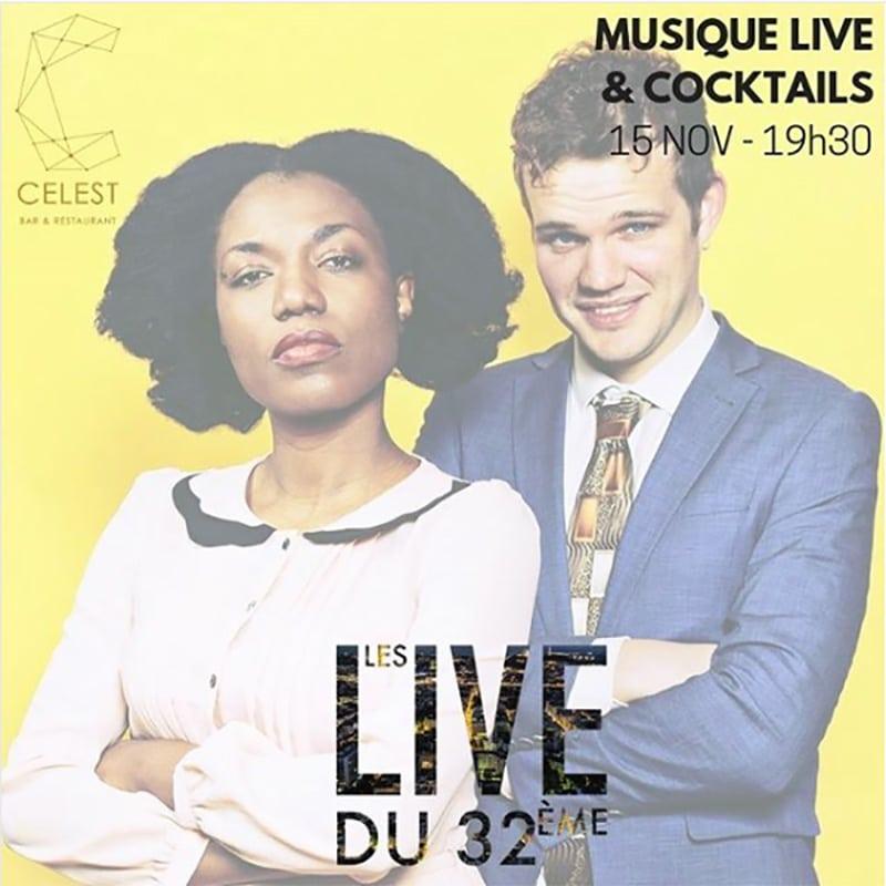 Live music event - Celeste Bar Lyon