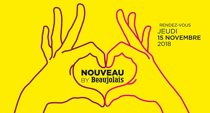 Beaujolais nouveau poster
