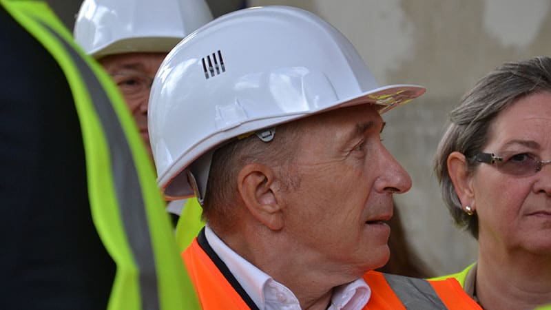 gérard Collomb, mayor of Lyon, France
