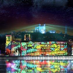 Lyon festival of lights 2018