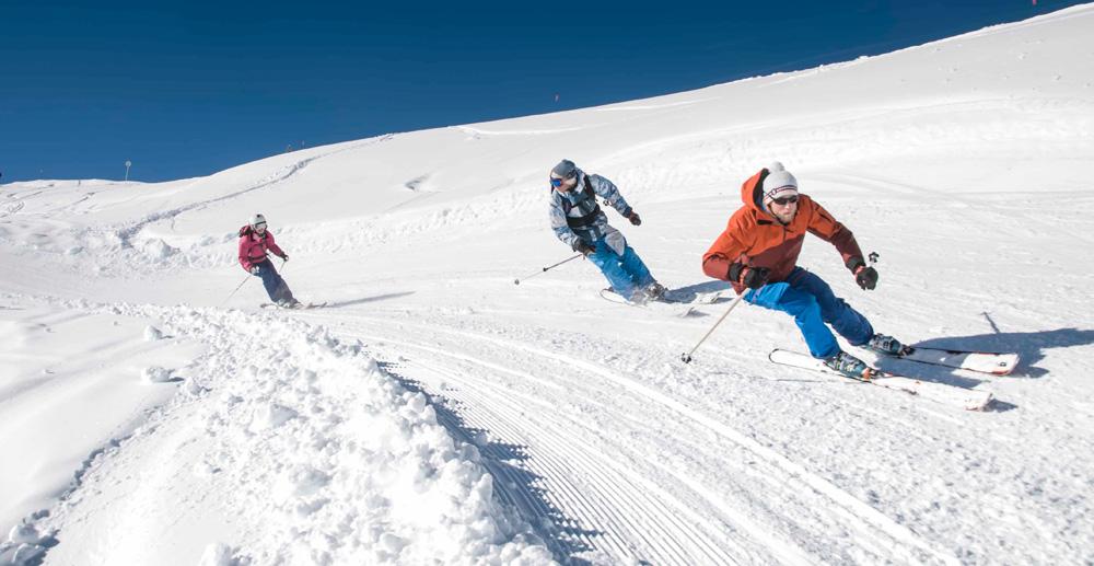 Esquiar en Arêches-Beaufort © Thomas Guiard