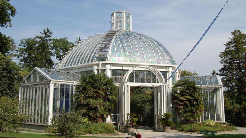 Botanical garden in Geneva