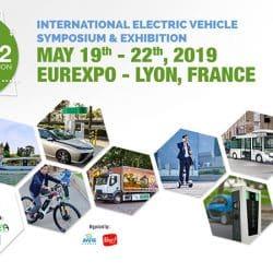 International Electric Vehicle Symposium - Lyon, France May 2019