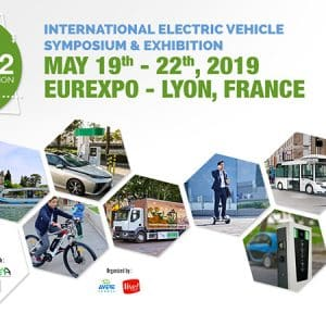 International Electric Vehicle Symposium - Lyon, France May 2019