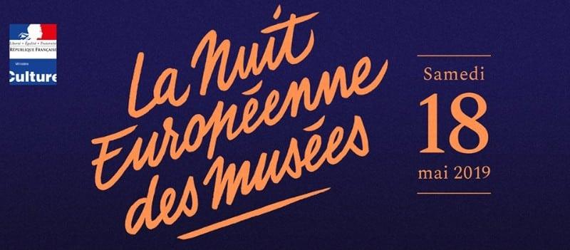 Nuit des musées 2019 in Lyon - flyer event