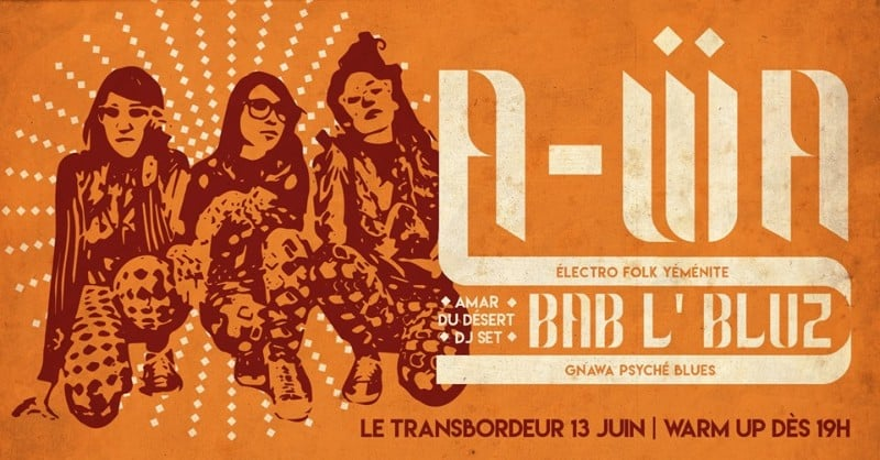Oriental grooves in Lyon, Club Transbo
