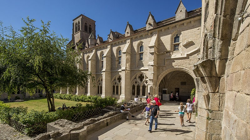 La Chaise Dieu abbey in Haute-Loire