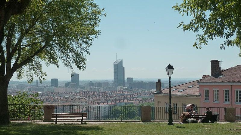 Heatwave in Lyon, France June 2019