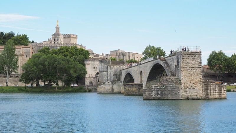 """Le """"pont d'Avignon"""": famous Avignon bridge"""