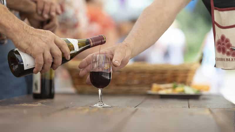 Beaujolais tasting