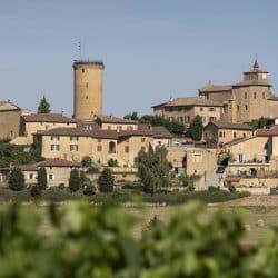 Oingt medieval village beaujolais