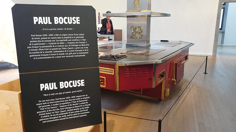 Lyon's city of gastronomy Paul Bocuse piano