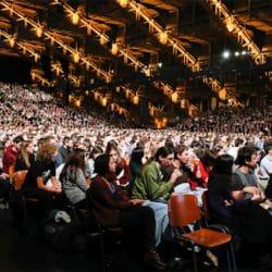 Screening at the Halle Tony Garnier in Lyon