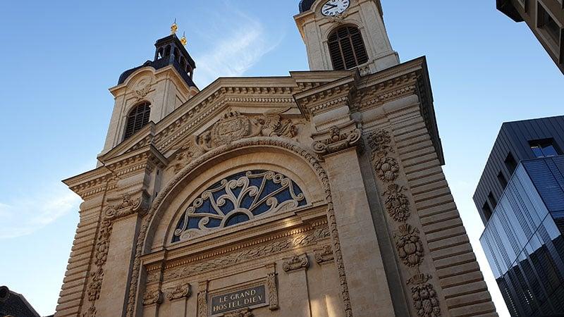 Lyon's city of gastronomy entrance