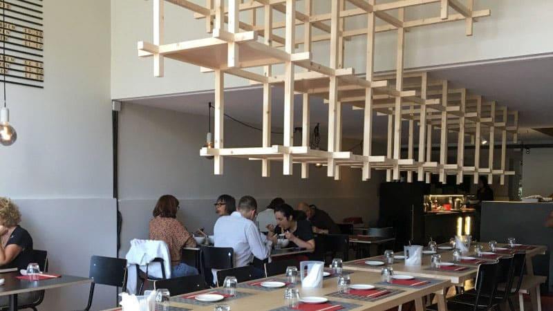 Japanese ramen restaurant in Lyon