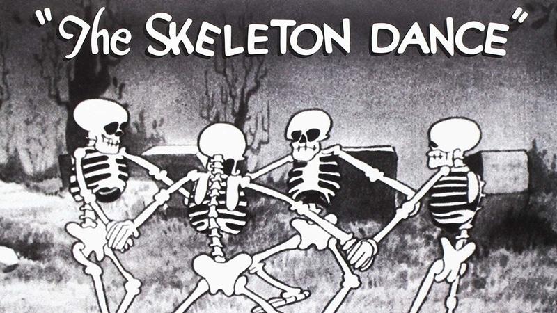 Disney Short Film The Skeleton Dance.