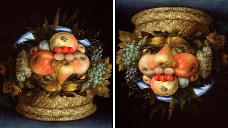 Painting by Giuseppe Arcimboldo