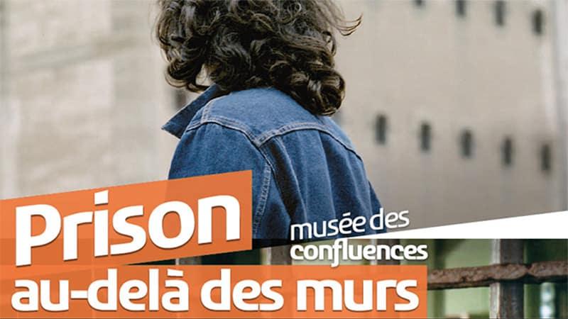 """Poster """"Prison hors les murs"""" exhibition in Lyon"""