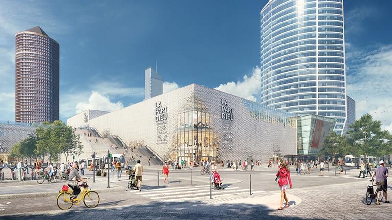 Part-Dieu shopping mall in 2020
