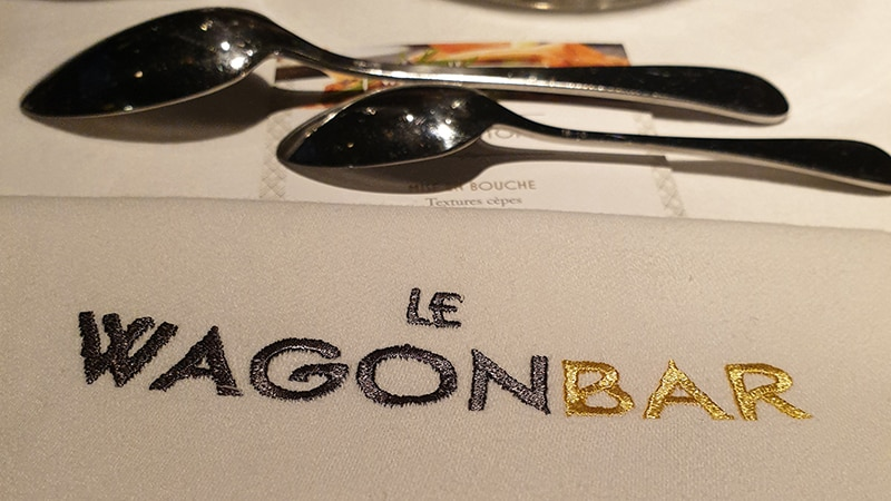 The WagonBar restaurant in Lyon