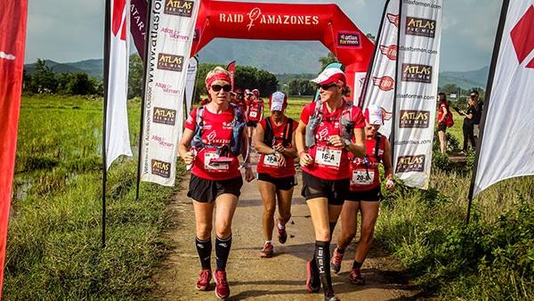 Raid Amazones finish line