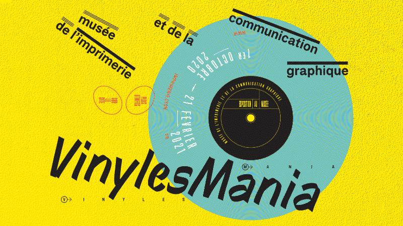 Vinyle Mania's heading on Facebook, Lyon 2021
